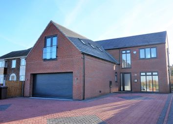 Thumbnail 4 bed detached house for sale in Lincoln Road, Washingborough