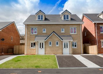 Thumbnail 3 bed semi-detached house for sale in Parc Y Dderwen, Upper Heathfield Road, Pontardawe