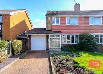Thumbnail 3 bedroom semi-detached house for sale in Fishley Close, Little Bloxwich