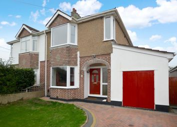 Thumbnail 4 bed semi-detached house for sale in Lucas Lane, Plymouth, Devon
