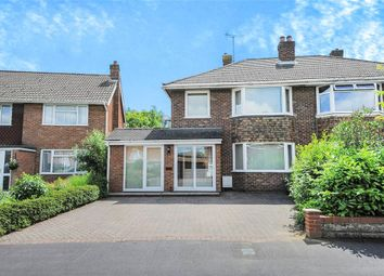 Thumbnail 3 bedroom semi-detached house for sale in Yiewsley Crescent, Stratton St. Margaret, Swindon