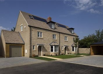 Thumbnail 4 bed semi-detached house for sale in Applegarth Court, Witney, Oxfordshire