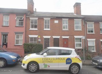 Thumbnail 2 bed terraced house to rent in Cromwell Road, New Town, Colchester, Essex