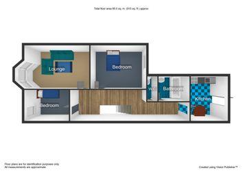 Thumbnail 2 bed flat for sale in Restormel Terrace, Mutley, Plymouth, Devon
