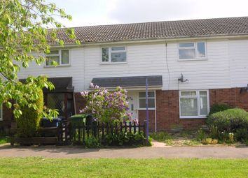 Thumbnail 3 bed terraced house to rent in Coldhams Crescent, Huntingdon, Cambridgeshire