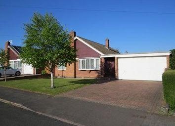 Thumbnail 3 bed bungalow for sale in Firwood Road, Melton Mowbray
