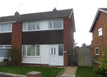 Thumbnail 3 bedroom semi-detached house for sale in Roman Road, Holmer, Hereford