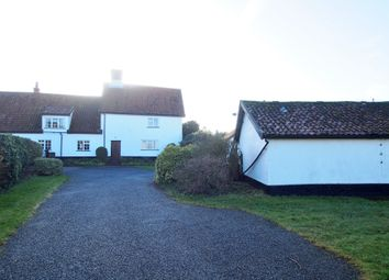 Thumbnail 5 bed farmhouse for sale in Morley Road, Deopham, Wymondham