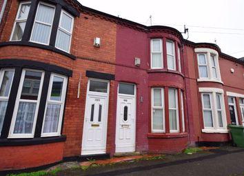 Thumbnail 2 bed terraced house for sale in Wheatland Lane, Wallasey, Merseyside