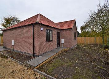 Thumbnail 2 bed detached bungalow for sale in Kirklington Road, Bilsthorpe, Newark