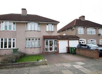 Thumbnail 3 bed semi-detached house for sale in Hurlingham Road, Bexleyheath, Kent