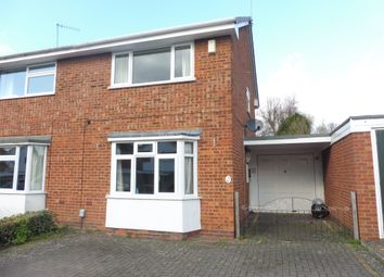 Thumbnail 2 bed semi-detached house for sale in Kirby Avenue, Warwick