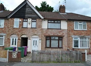 Thumbnail 3 bed terraced house for sale in Alstonfield Road, Liverpool