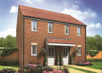 "Thumbnail 2 bed semi-detached house for sale in ""The Morden"" at Haverhill Road, Little Wratting, Haverhill"