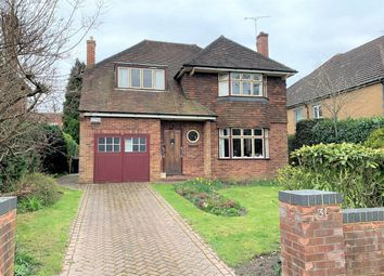 Thumbnail 4 bed detached house for sale in Upper Gordon Road, Camberley, Surrey
