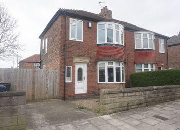 Thumbnail 2 bedroom semi-detached house for sale in Dimbula Gardens, High Heaton, Newcastle Upon Tyne
