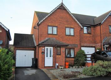 Thumbnail 3 bed semi-detached house for sale in Thornhill Drive, St Andrews Ridge, Swindon
