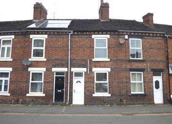 Thumbnail 2 bedroom terraced house for sale in Silverdale Road, Newcastle-Under-Lyme