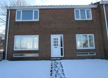 Thumbnail 3 bedroom end terrace house to rent in Cragside Court, Blackhill, Consett, County Durham