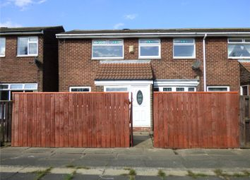 Thumbnail 3 bed end terrace house to rent in Witney Close, Sunderland, Tyne & Wear