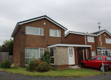 Thumbnail 3 bed detached house to rent in Broom Hall Drive, Ushaw Moor, Durham