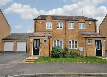 Thumbnail 2 bed semi-detached house for sale in Howards Way, Moulton Park, Northampton