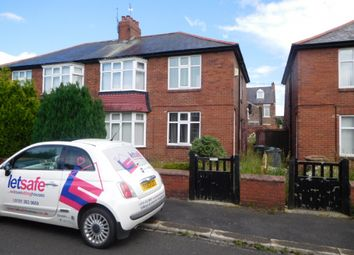 Thumbnail 2 bedroom flat to rent in Merlin Crescent, Wallsend