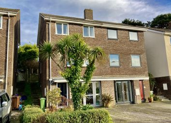 Thumbnail 4 bed semi-detached house for sale in Pengarth Road, Falmouth