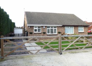 Thumbnail 2 bed semi-detached bungalow for sale in Middlewich Road, Bradfield Green, Crewe