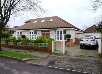 Thumbnail 5 bed detached bungalow for sale in Salisbury Road, Worcester Park