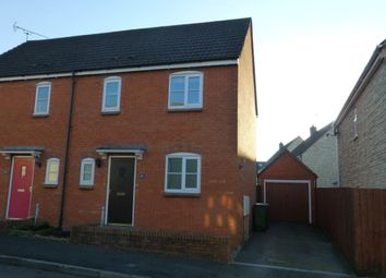 Thumbnail 3 bed semi-detached house to rent in Poppy Close, Calne