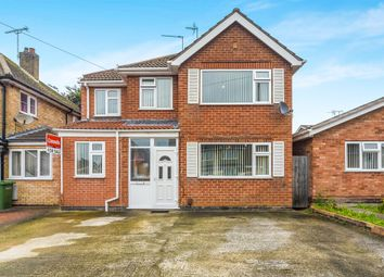 Thumbnail 5 bed detached house for sale in Adlington Road, Oadby, Leicester