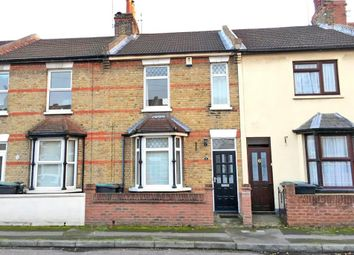 Thumbnail 2 bed terraced house for sale in Coombe Road, Gravesend