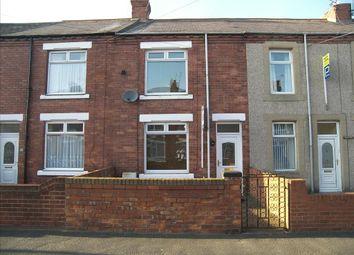 Thumbnail 2 bedroom terraced house for sale in Rothesay Terrace, Bedlington