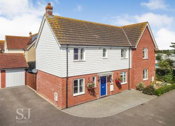 Thumbnail 4 bed semi-detached house for sale in Medley Way, St. Lawrence, Southminster