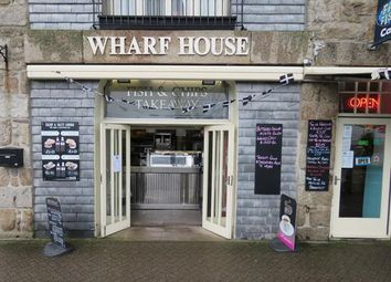 Thumbnail Restaurant/cafe for sale in Fat Fish Cafe, Wharf House, Wharf Road, Penzance, Cornwall