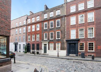 Thumbnail 4 bedroom town house for sale in Folgate Street, London