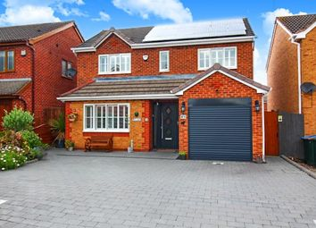 Thumbnail 4 bed detached house for sale in Upperfield Way, Binley, Coventry