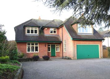 Thumbnail 4 bed detached house for sale in Kidmore End Road, Emmer Green, Reading