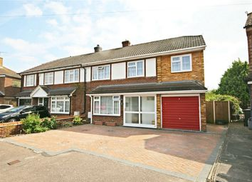 Thumbnail 4 bed semi-detached house for sale in Rowney Wood, Sawbridgeworth, Hertfordshire