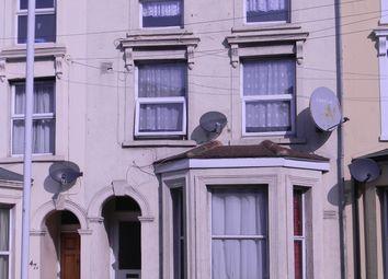 Thumbnail 3 bedroom maisonette to rent in Dover Road, Folkestone