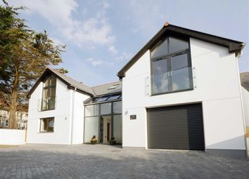 Thumbnail 4 bed detached house for sale in Flexbury Park Road, Bude, Cornwall