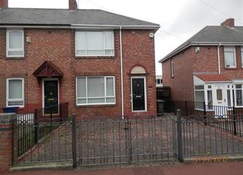 Thumbnail 2 bedroom semi-detached house for sale in Clapham Avenue, Newcastle Upon Tyne
