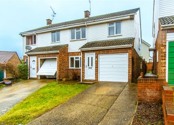 Thumbnail 3 bed semi-detached house for sale in Bentfield Gardens, Stansted
