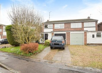 Thumbnail 3 bed semi-detached house for sale in Garland Close, Burghfield Common, Reading