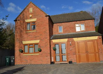 Thumbnail 4 bed detached house for sale in The Tramway, Newhall, Swadlincote
