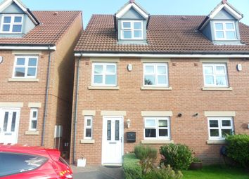 Thumbnail 4 bed town house for sale in Hawks Edge, West Moor, Newcastle Upon Tyne