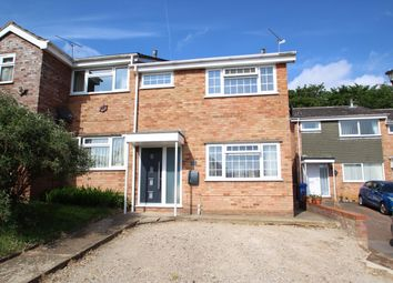 Thumbnail 3 bed semi-detached house for sale in Glastonbury Close, Ipswich