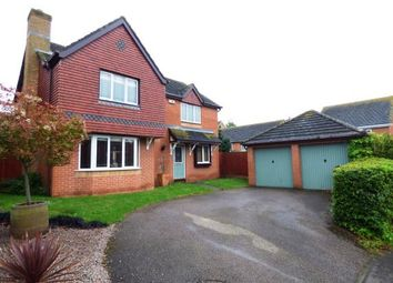 Thumbnail 4 bed detached house for sale in Fields End Close, Hampton Hargate, Peterborough, Cambridgeshire