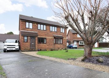 Thumbnail 3 bed semi-detached house for sale in Richards Close, Worle, Weston-Super-Mare